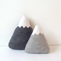 Baby boy nursery decor Mountain Pillows Mountain by LilyRazz