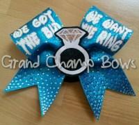 Disney theme We got the Bid We want the Ring cheerleader