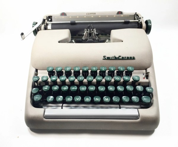 1950s Smith And Corona Clipper Typewriter Working Serviced