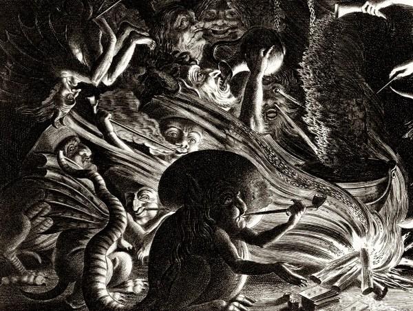Vintage Occult Art