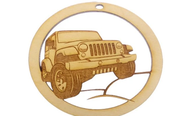 Jeep Ornament Jeep Lover Christmas Gift Jeep Gift Topper