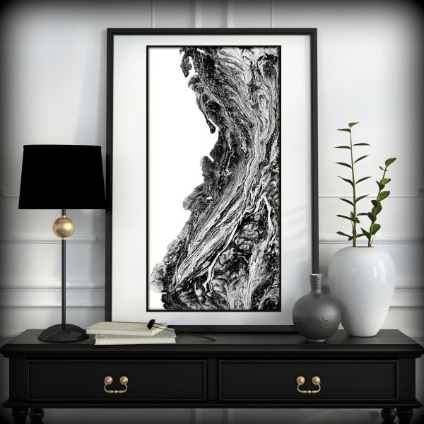 Black And White Prints - Art -black