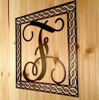 Iron Monogram Wall Decor Simple Dr Livingstone Monogrammed ...