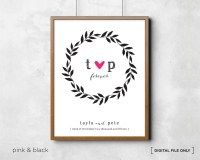 Wedding Gift. Love Wall Art. Wedding Wall Art Personalized