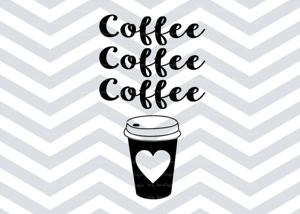 coffee cup svg love file
