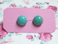 Tiny Turquoise Stud Earrings/Turquoise Stud Earrings/Turquoise
