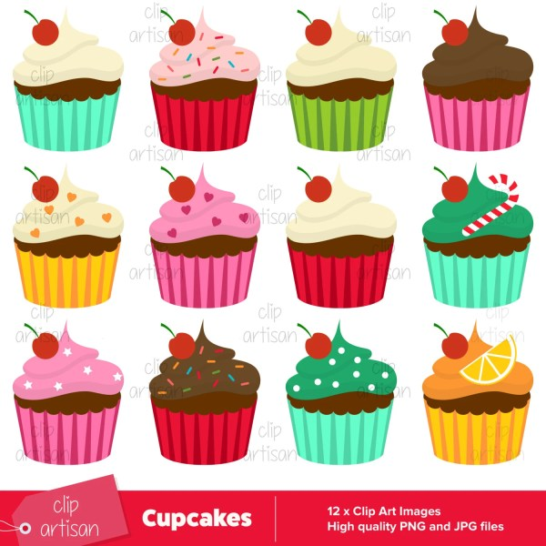 cupcake clipart cup cake