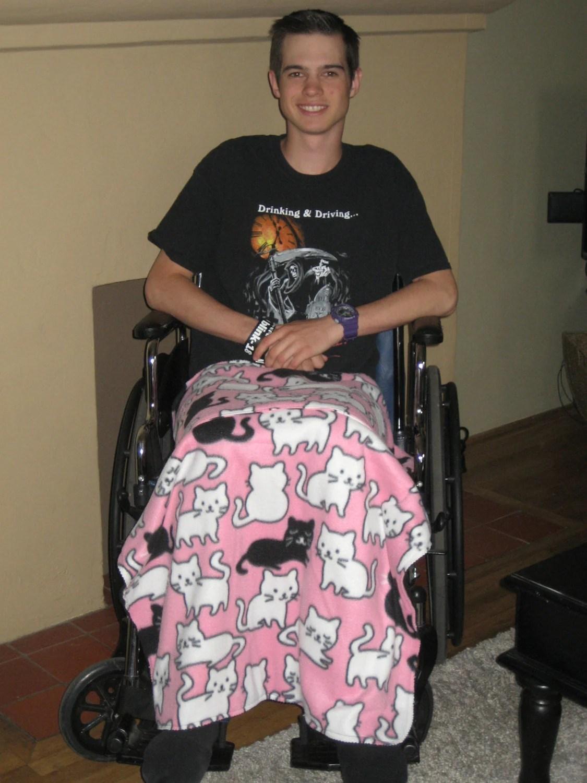 wheelchair blanket keenets fishing chair lap game throw