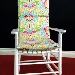 Rocking Chair Cushion Covers Vintage Wooden Dining Chairs Cover Kumari Garden Sujata Pink