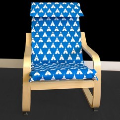 Ikea Poang Chair Cover Wicker Chairs And Wood Table Kids Teepee Children 39s