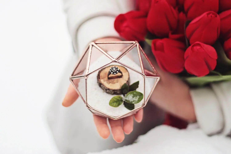 Etsy Eye Candy: 35+ Awesome Wedding Ring Box Ideas