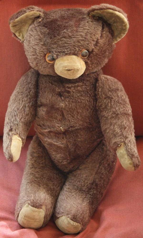 Vintage 1950s1960s Knickerbocker Teddy Bear