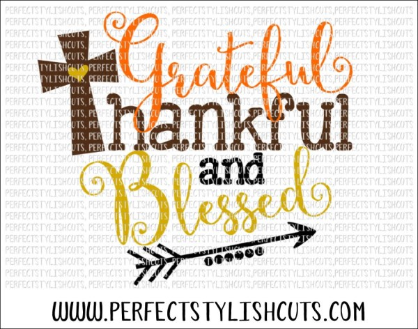 fall svg grateful thankful blessed