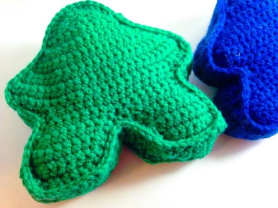 Plush Crochet Meeple