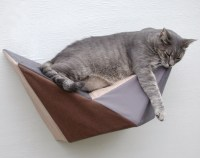 Items similar to Decorative Cat Wall Perch - Cat Wall Art ...