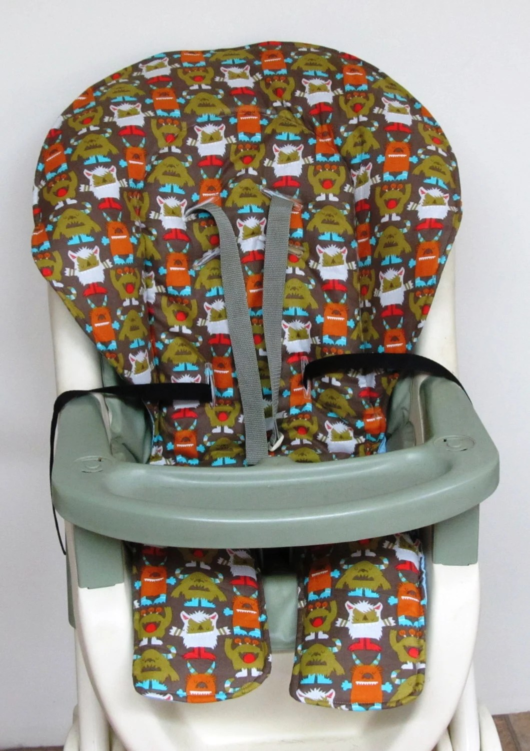 High Chair Pads Graco Replacement Chair Cover High Chair Pad By Sewingsilly