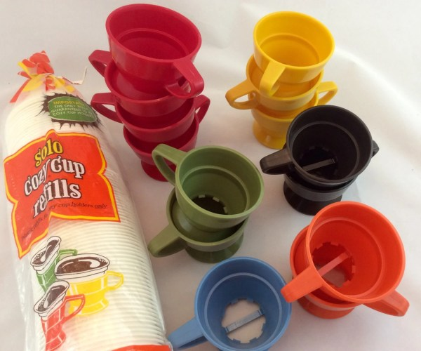 Vintage Solo Cup Holders Multi Colored Cozy