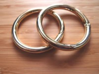 Snap O-Rings - Gate Hinged Rings 2 Inch / 50mm - Gold ...