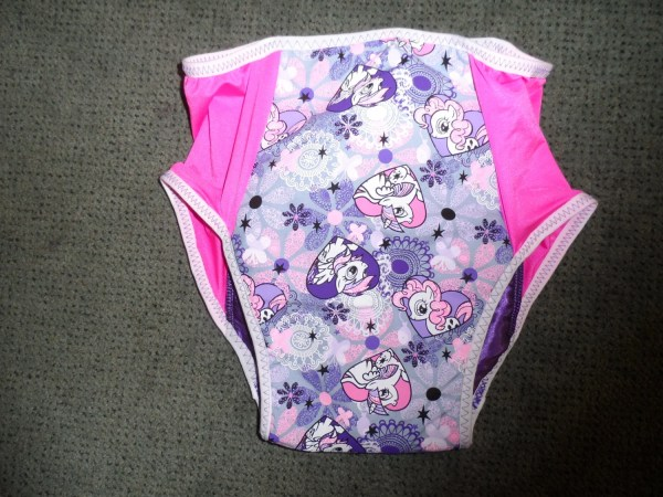 Adult Baby Training Pants. Panties. Thin. Mlp Withzorb