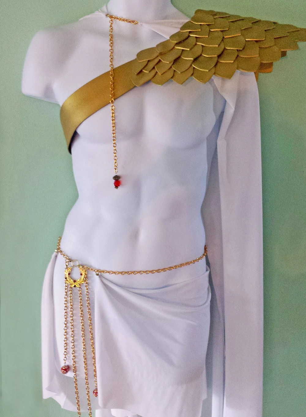 SEPARATE PIECES Greek God Costume Gladiator by