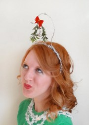 fabulous christmas hair accessories