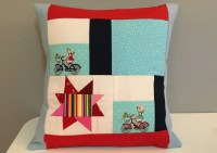 Items similar to Bike Pillow 16x16 on Etsy