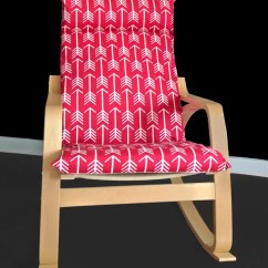 Poang Chair Covers Grey Stool Red Arrows Cover