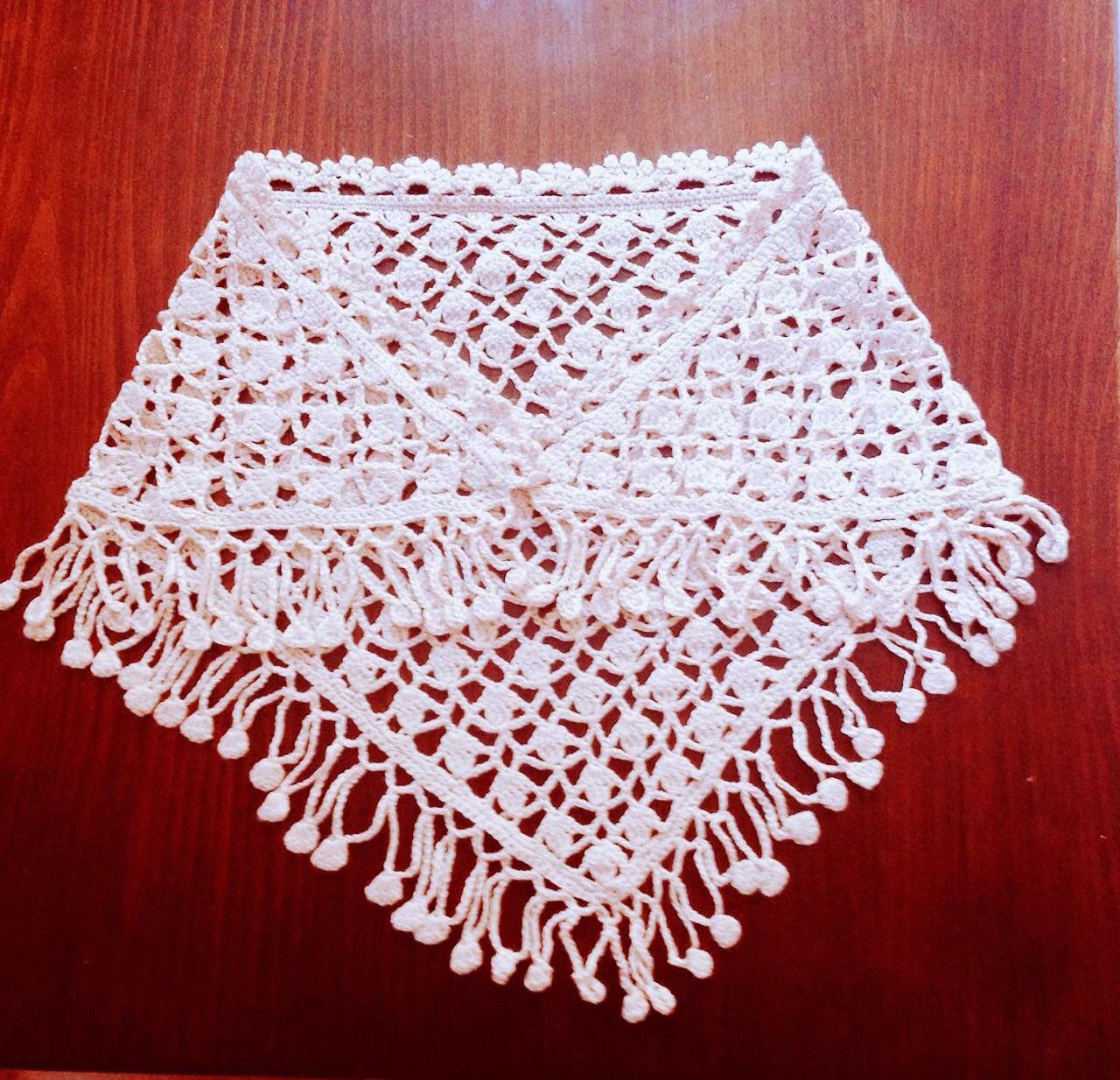 russian lace crochet scarf diagram microphone wire easy shawl pattern triangular