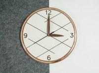 Wooden wall clock Unique wall clock Modern wall clock