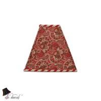 Paisley Red Lamp Shade: Red Lamp Shades Designer Lamp Shades