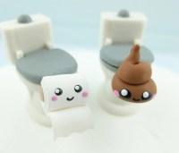 Best friends poop toilet paper roll earring studs by ...