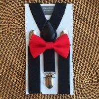 Red Bow Tie Red Baby Bow Tie Red Toddler Bow Tie by ...
