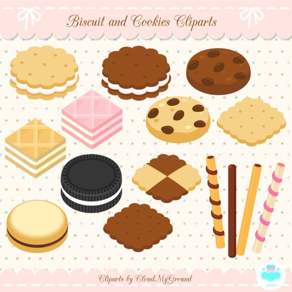biscuit and cookies clip art bakery