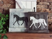 RUSTIC HORSE DECOR Equestrian wall decor Horse by ...