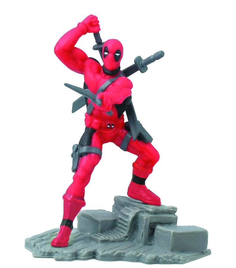 Deadpool Cake Topper Birthday Figure Figurine Wedding