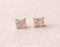 Second hole earrings | Etsy