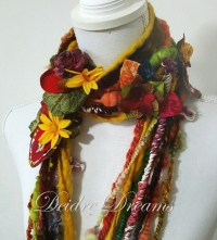 Thanksgiving Flowers Scarves for Women | Thanksgiving Wikii