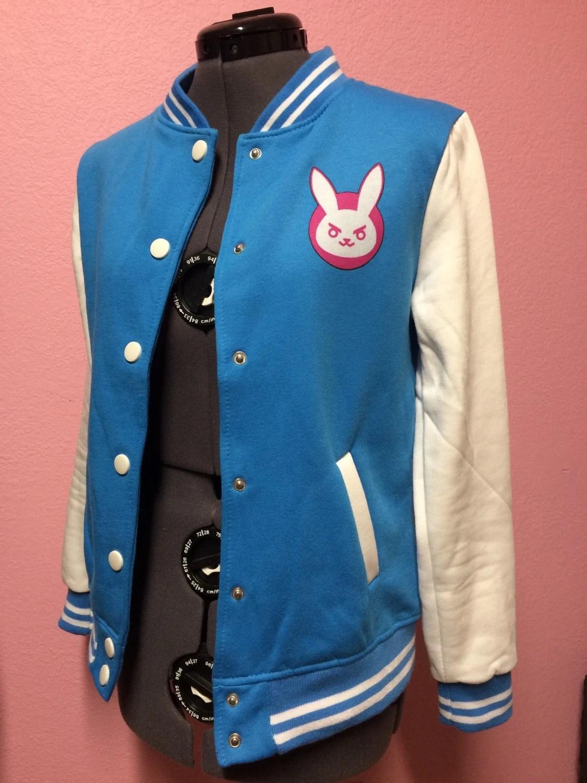 DVa Overwatch Inspired Varsity Jacket NEW By CakeShopCouture