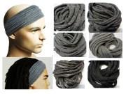 mens headband dreadband hair