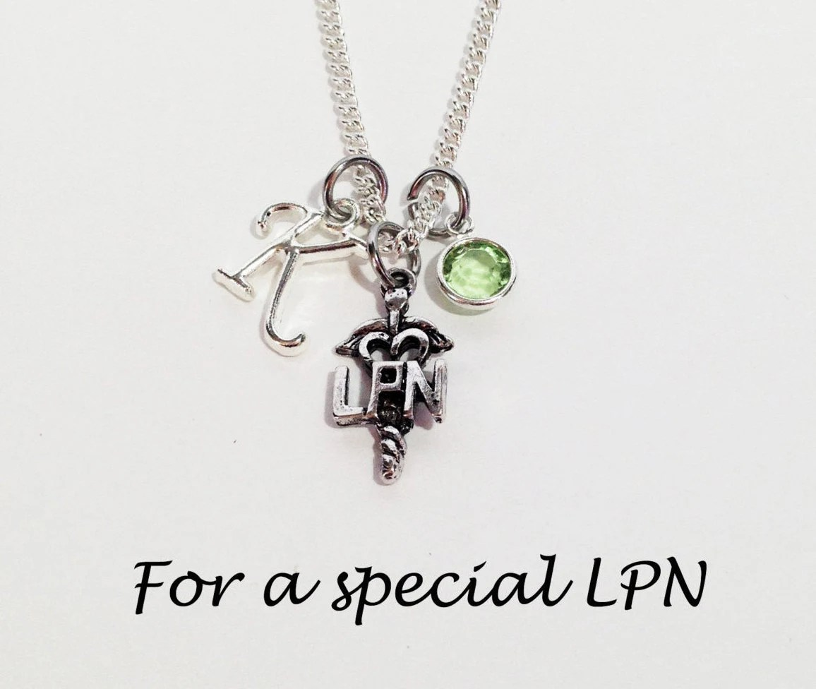 LPN Gifts LPN Graduation Gift LPN Necklaces Nurse Graduation