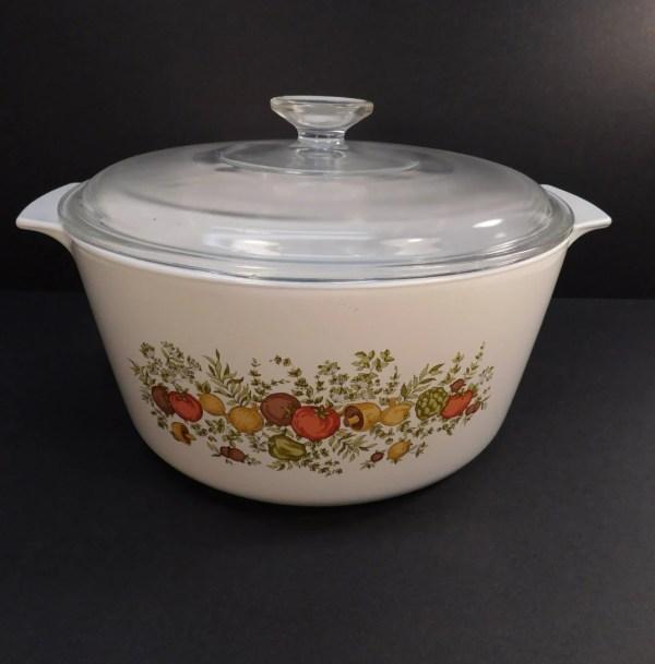 Vintage Corning Ware Spice Of Life Rangetopper Saucepan 5