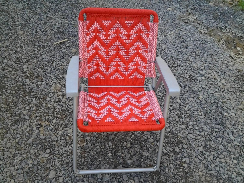 macrame lawn chair macys recliner chairs