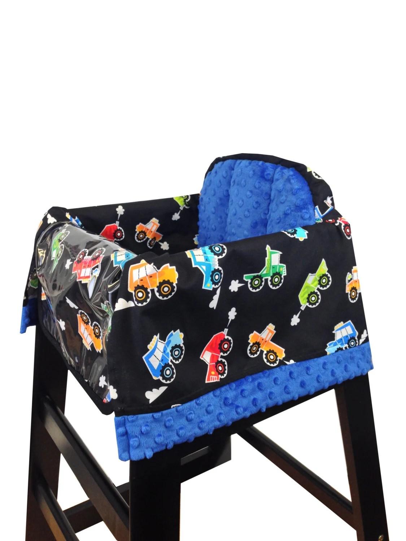 high chair covers for restaurants room and board swivel monster truck cover restaurant