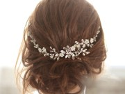 bridal headpiece crystal