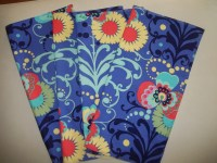 Cobalt Blue and Yellow Provence Tablecloth by CottageDayDreams
