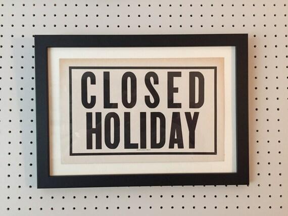 Holiday Closing Signs Templates EBook Database Holiday Closing Door