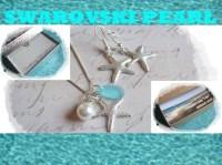 1 BEACH WEDDING JEWELRY sets Starfish Earrings by ...
