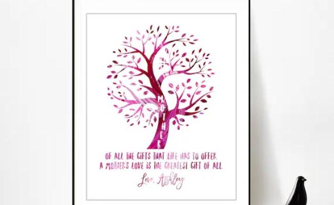 Mother Daughter Poem 80th Birthday Gift For Mom Birthday Gift