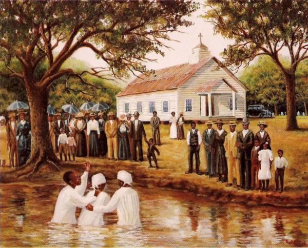African American Art Print 9x11