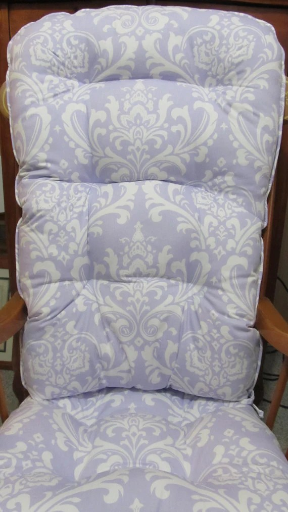 baby chair rocker hello kitty table and set rocking or glider cushion in lavender by cottageaccent